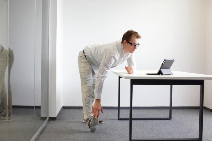 Joga w biurze